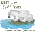 Best. Summer. Ever. Pixel Tag by Dawndance