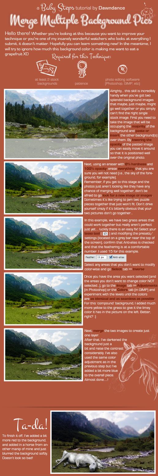 Merge Multiple Background Pics by Dawndance
