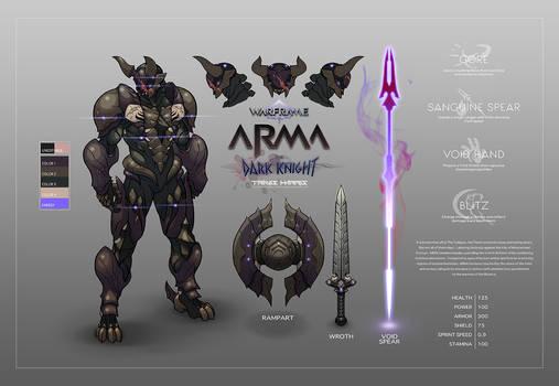 ARMA - Warframe Fan Concept