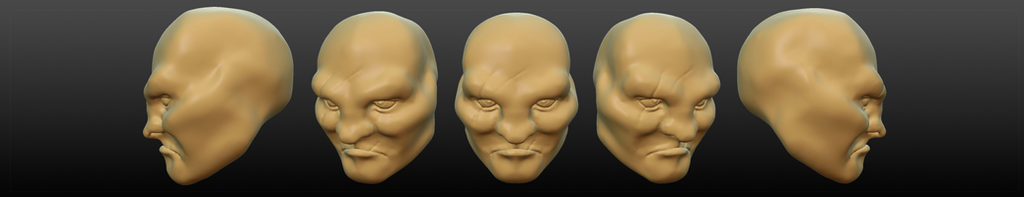 Screwing With Sculptris 1: Tough Guy by TravisHarris