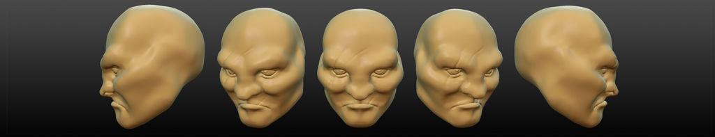 Screwing With Sculptris 1: Tough Guy