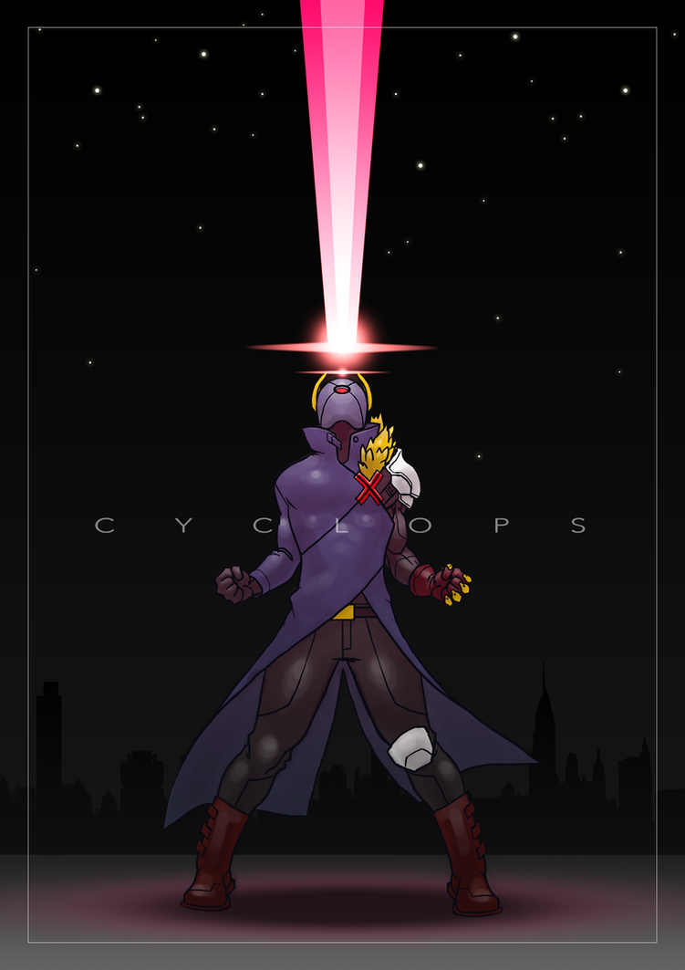 Cyclops Redesign by TravisHarris