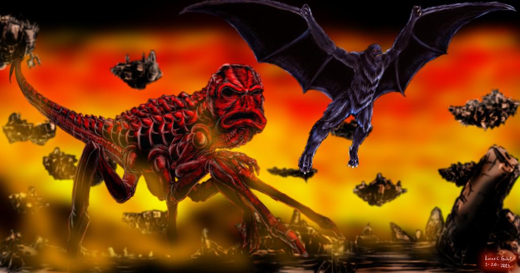 RUN Red Vs Solomon By LucasCGabetArts On DeviantArt
