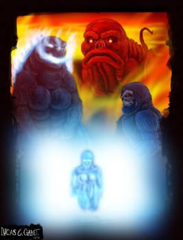 NES Godzilla Creepypasta Poster