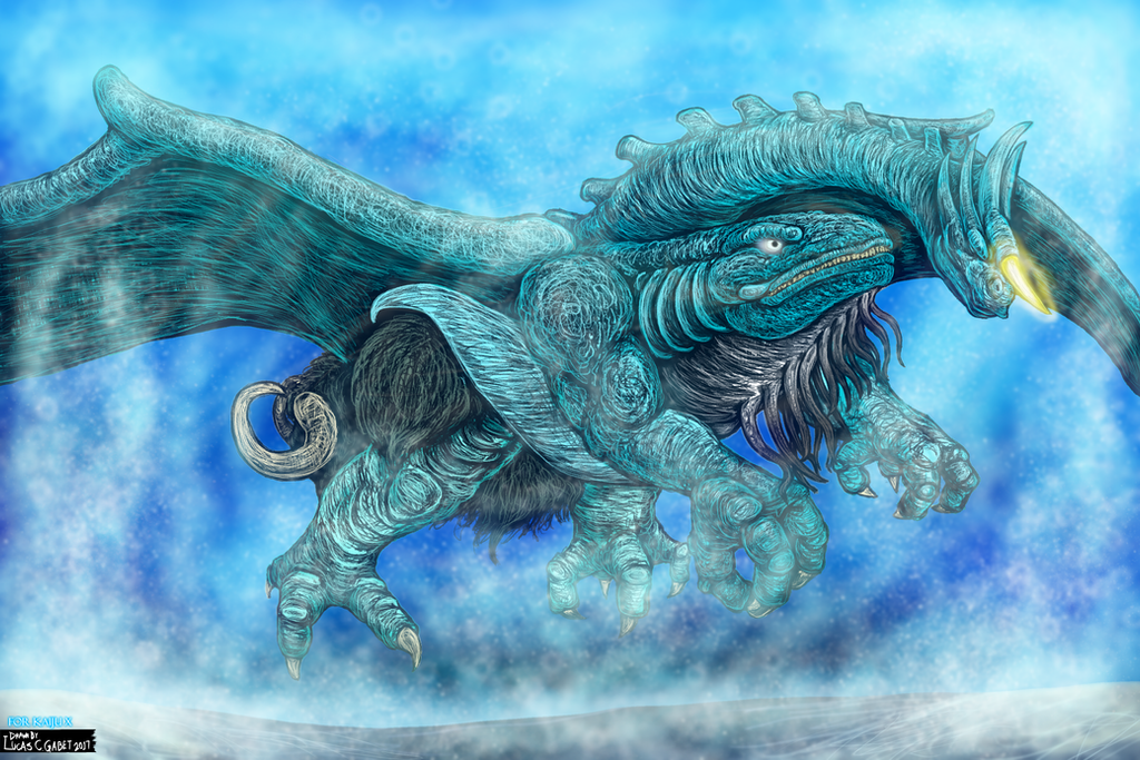 Bakan - Water God Beast Form for KaijuX by LucasCGabetArts