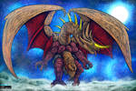 Bakan - Dragon God Beast Form for KaijuX