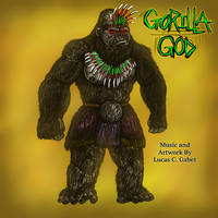 Gorilla God by LucasCGabetArts