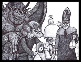 Herbert in the Church by LucasCGabetArts