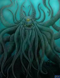 The Umibozu King by LucasCGabetArts