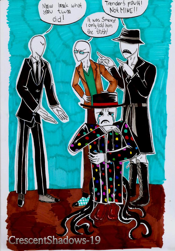 arguementsslender brothers by crescentshadows19 on deviantart