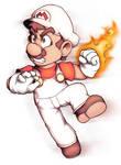 Giga/Fire Mario