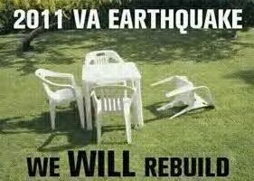 Earthquake in VA by TigerloverM