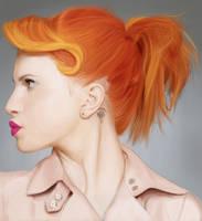 Hayley Williams Speedpainting. by AnEndlessVanity