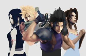 Final Fantasy WIP 2 by AnEndlessVanity