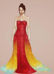 Katniss' Interview Dress by AnEndlessVanity