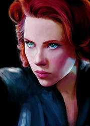 [AVENGERS] Black Widow. by AnEndlessVanity