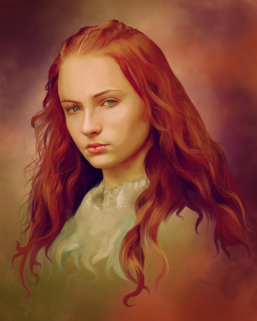 [GoT] Sansa Stark by AnEndlessVanity