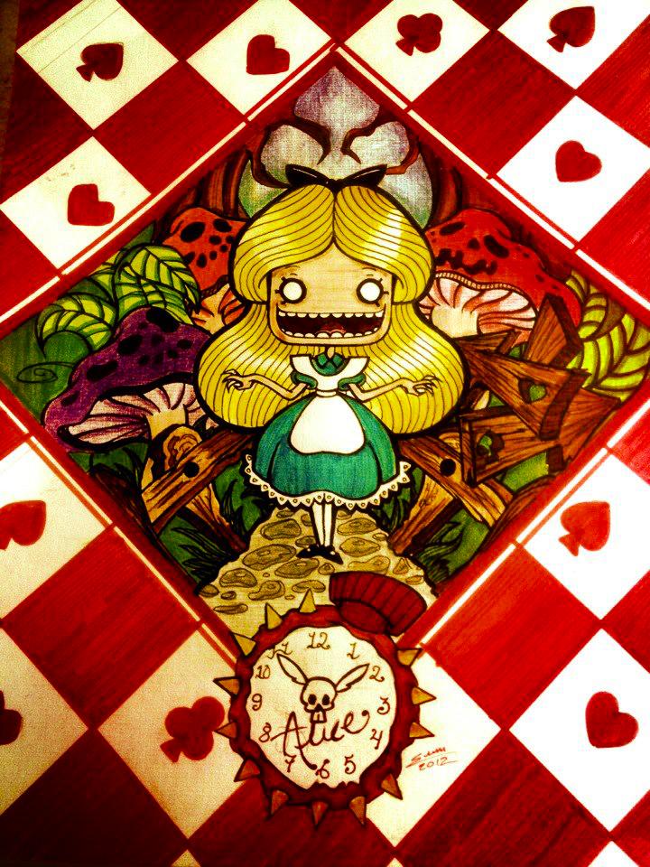 Alice Disturbed by centauros-graphic