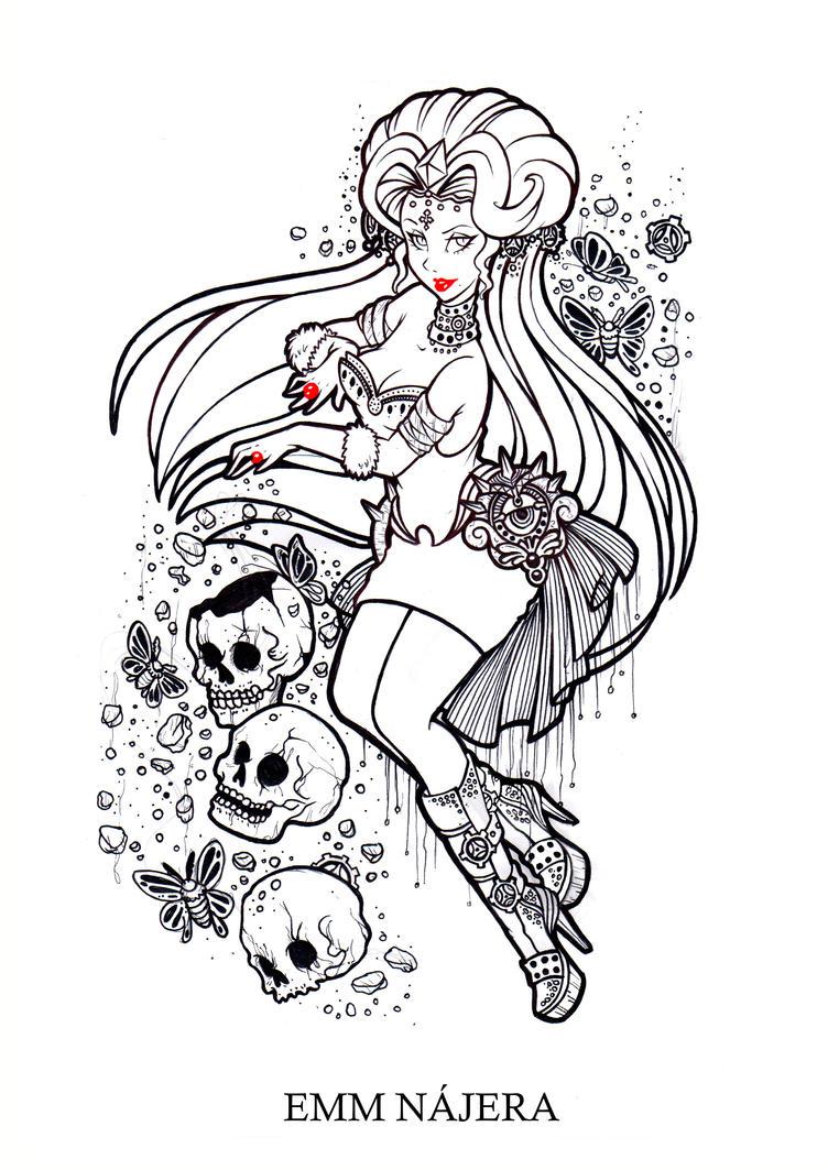 Steampunk Vampire by centauros-graphic