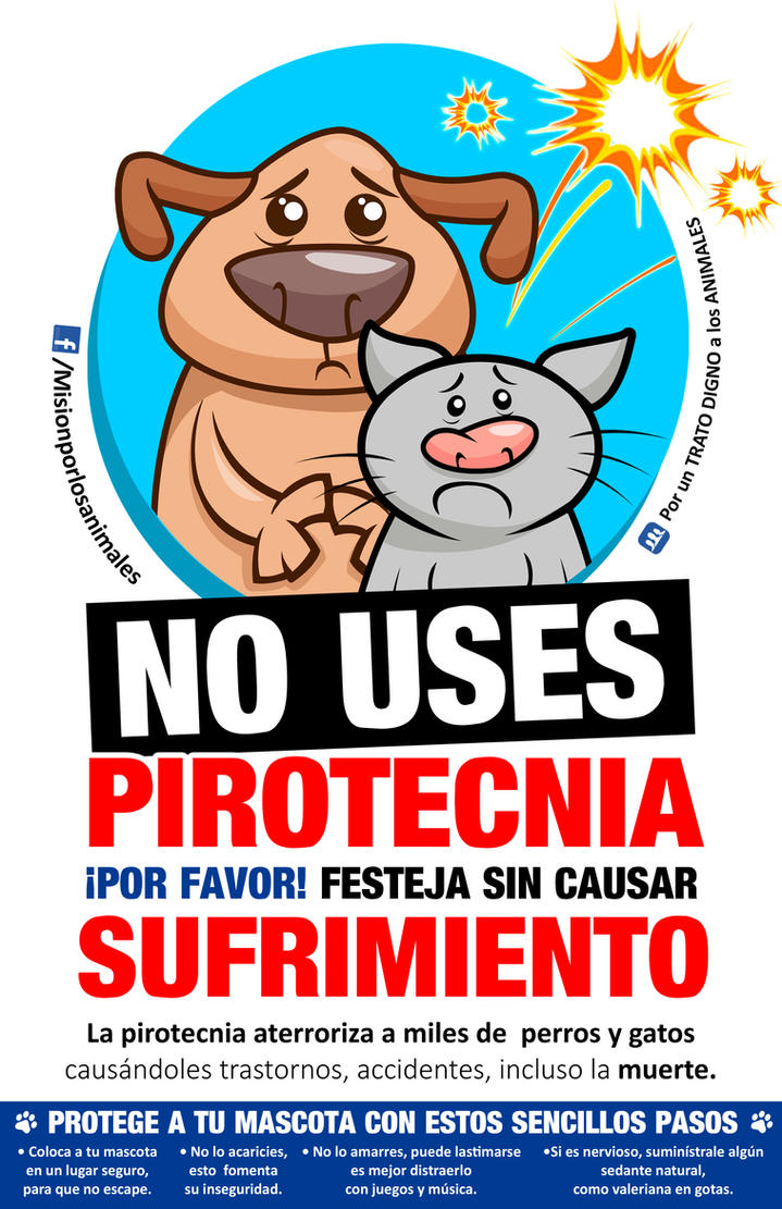 NO USES PIROTECNIA by centauros-graphic