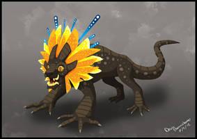 Sun Lion by AlynC