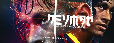 Neymar - collab with it's a fiasco by Piotr-Designs