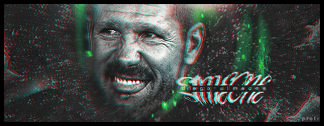 Diego Simeone - Atletico Coach - 3D by Piotr-Designs