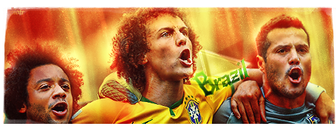 Brazil - WM 2014 by Piotr-Designs