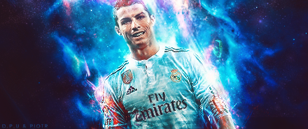 Cristiano Ronaldo - collab with DPU by Piotr-Designs