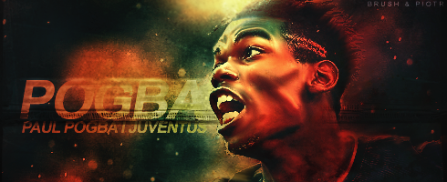 Paul Pogba - collab with BrushXXL by Piotr-Designs