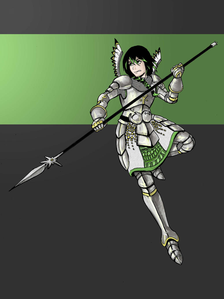 Knight of the Edelweiss- redraw by Dracozauryks
