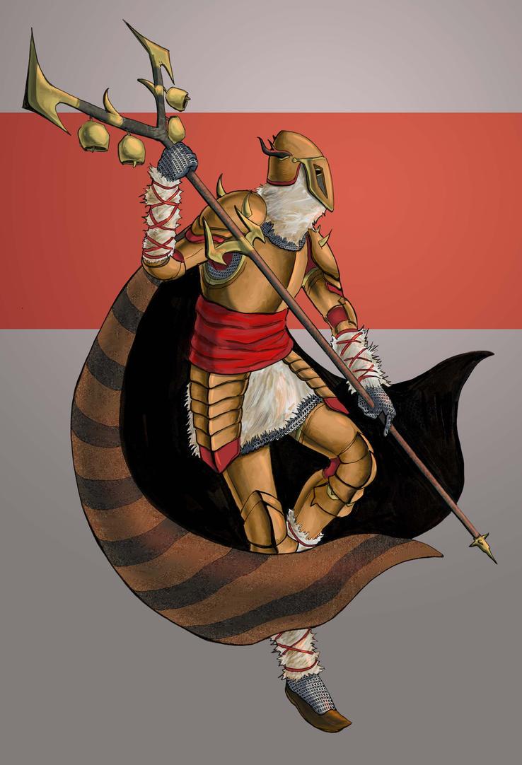 Spirit-Weaver Knight Kuker by Dracozauryks