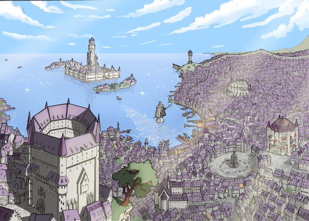Capital city by Dracozauryks