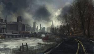 Post-apocalyptic Road