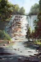 Waterfall by Milkduster