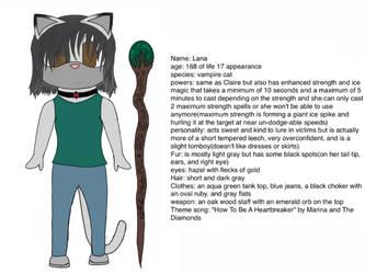 Lana the Vampire Cat's Bio by Destinyhunter77