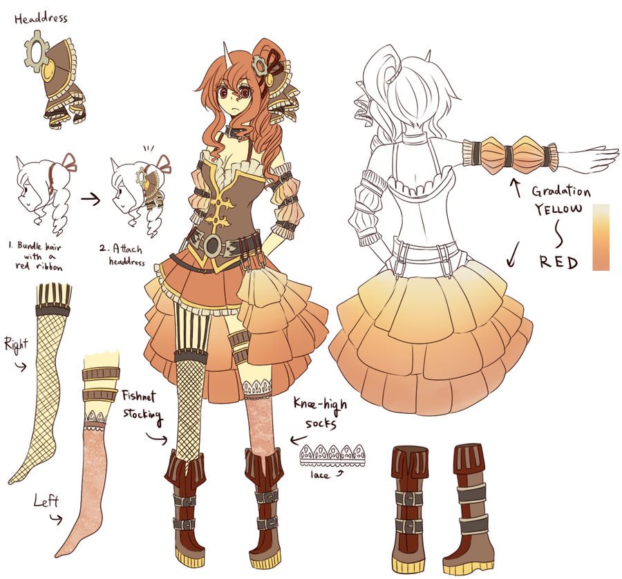 Commish: Willow outfit by crino-line
