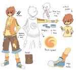 Commish: Saffron outfit
