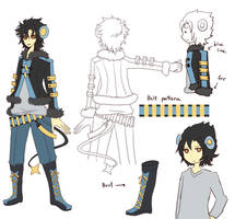 Commish: Zeus outfit by crino-line