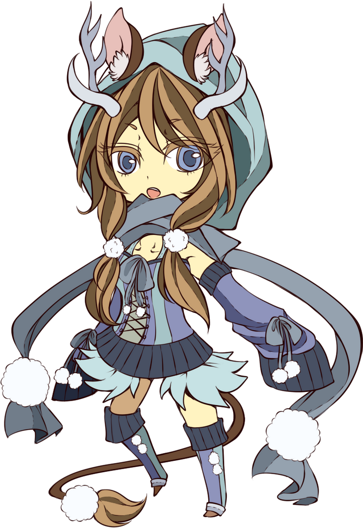 Commish: Mai chibi by crino-line