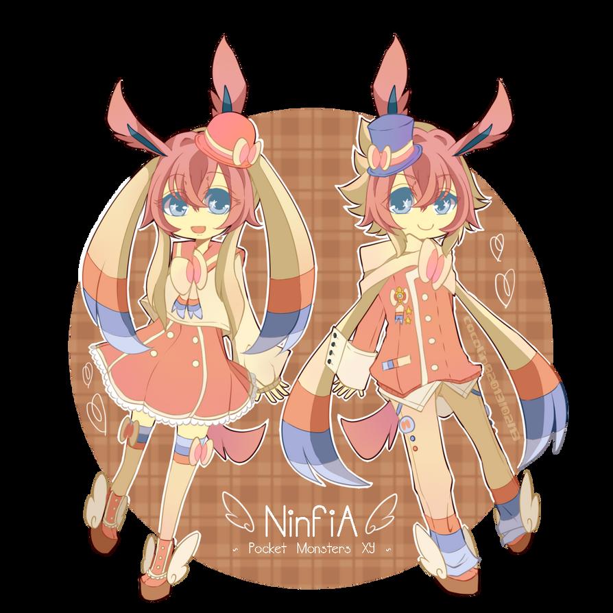 Gijinka: Ninfia by crino-line