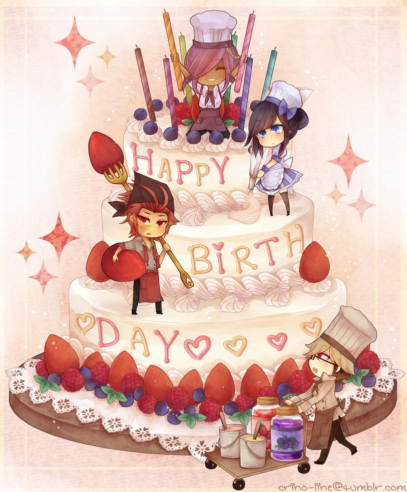 Happy birthday Jaci by crino-line