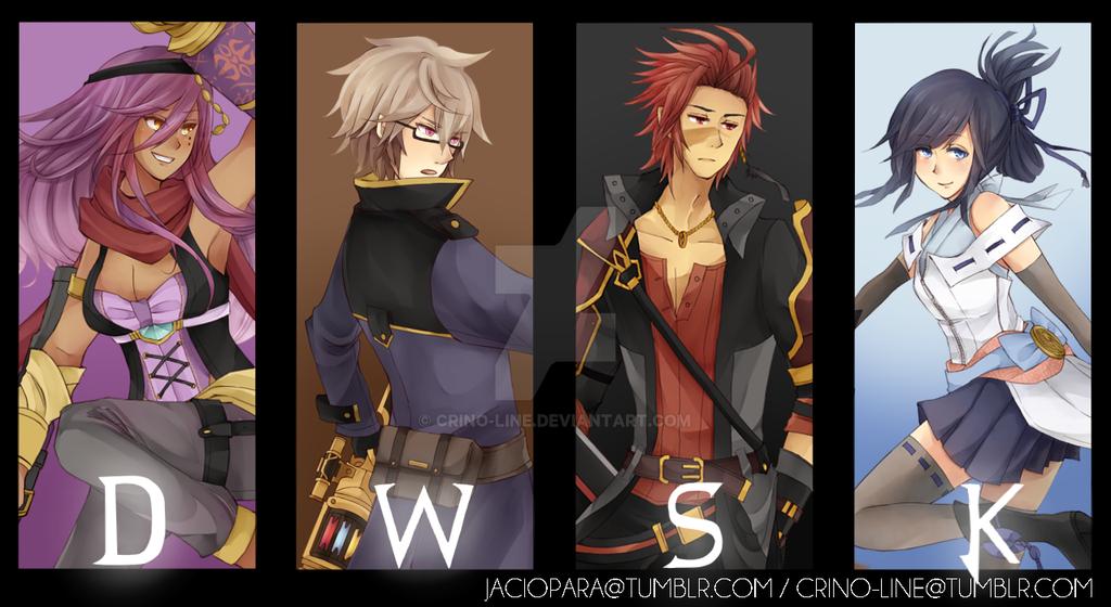Team D.W.S.K by crino-line
