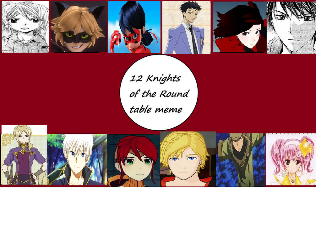 12 Knights Of The Round Table.12 Knights Of The Round Table Meme By Dragonprince By