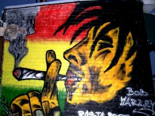 Graffiti rastafari by czito1 on DeviantArt