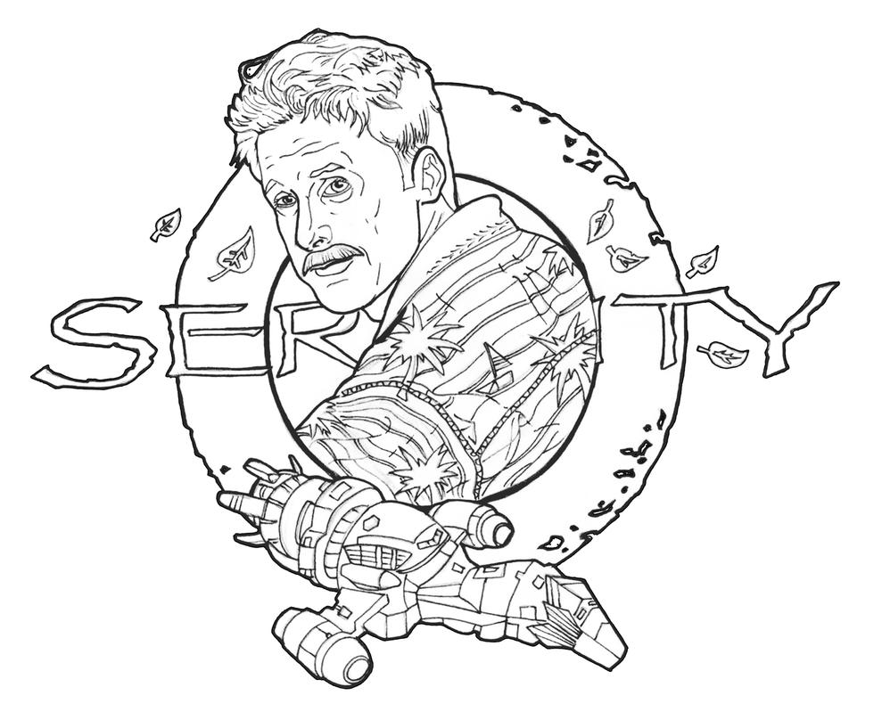 Serenity firefly coloring pages