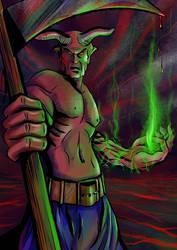 Demon Warrior by doomritual
