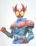 Kamen Rider Agito-Burning Form
