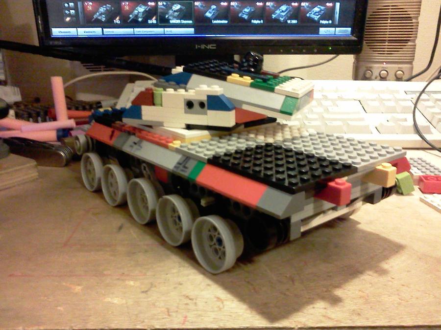 type 100-1 medium tank by ace00004