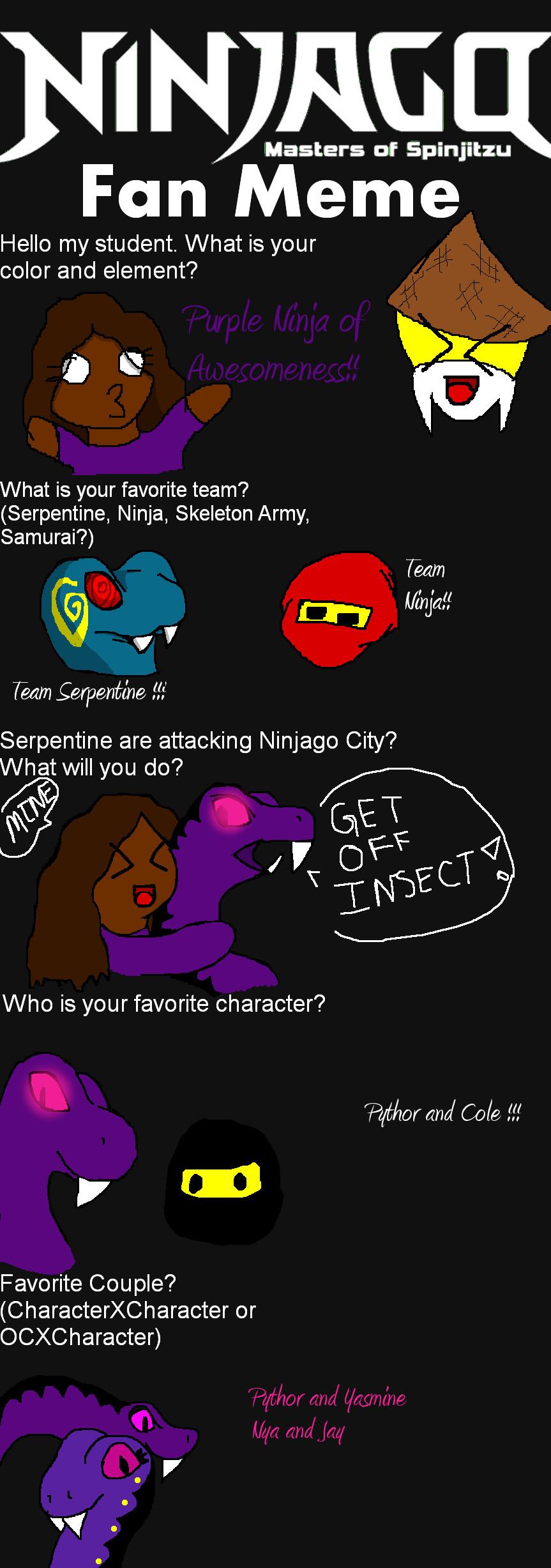 My Ninjago Meme